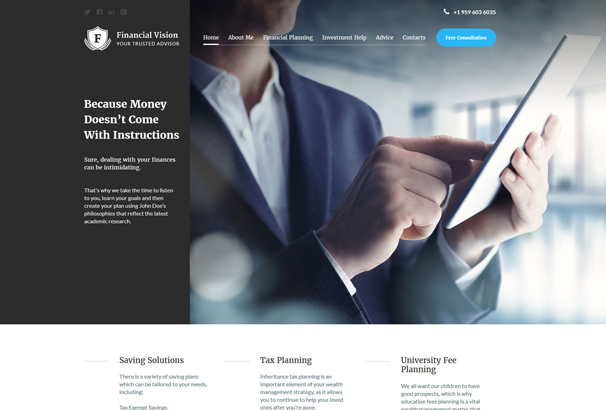 financial-advision-joomla-template
