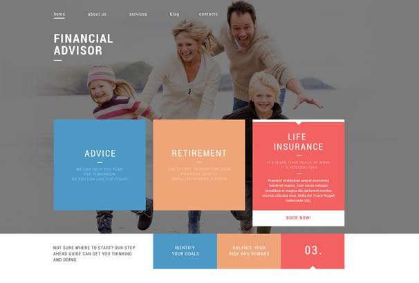 financial-advisor-drupal-template