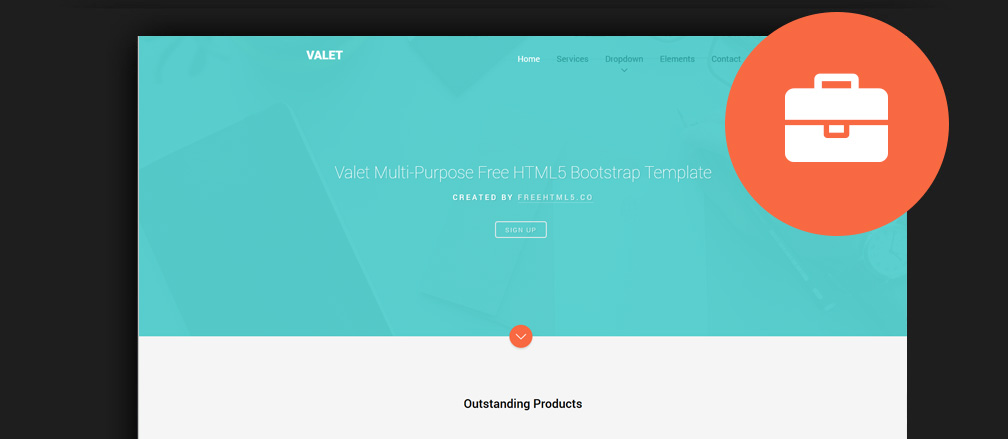 60+ Free HTML5 Business Website Templates 2017
