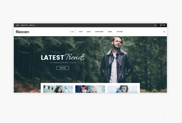 heaven-responsive-woocommerce-theme