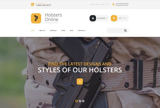 holsters-online-store-woocommerce-theme