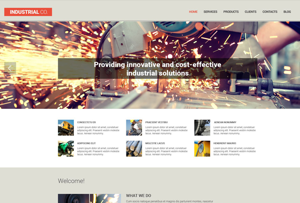 industrial-co-drupal-template