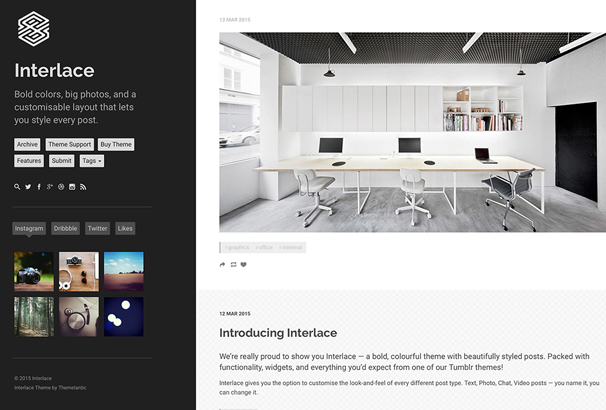 interlace-tumblr-theme