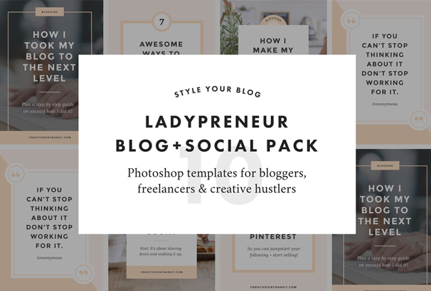 ladypreneur-blog-social-pack