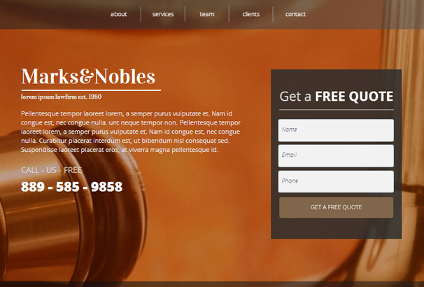law-firm-landing-page