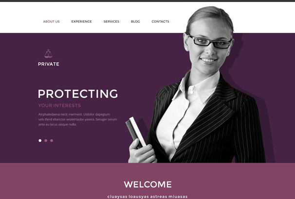 law-office-drupal-template