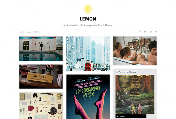 lemon-responsive-tumblr-theme