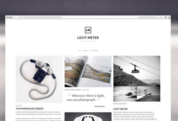 light-meter-theme