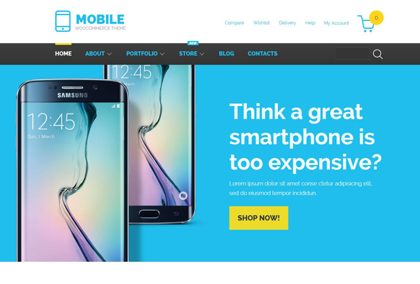 mobile-technology-woocommerce-theme