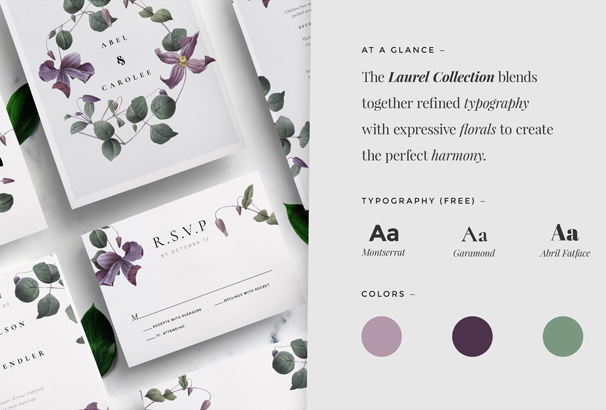 modern-laurel-wedding-collection