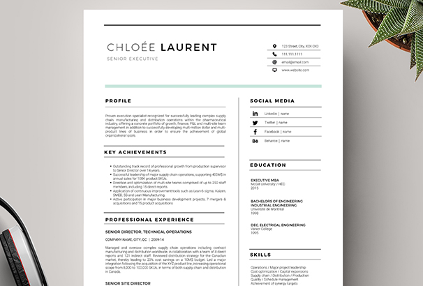 modern resume coverletter template - Cover Letter Templace