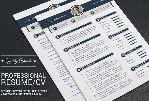 my-professional-resume-cv-set