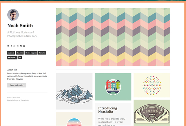 neatfolio-tumblr-theme