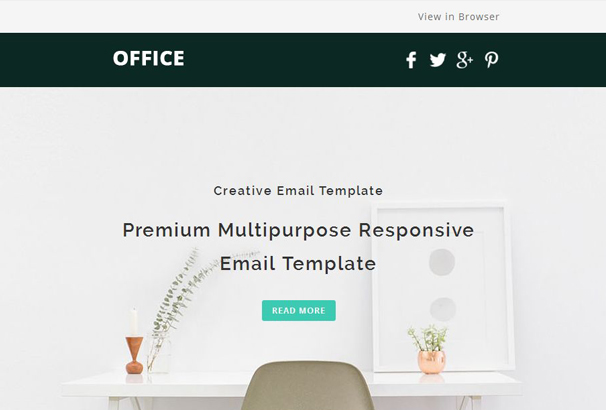 office email template