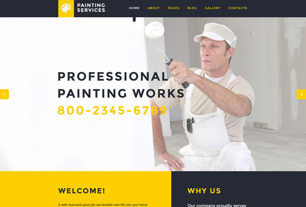 painting-services-joomla-template