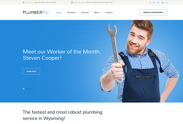 plumberpro-website-template