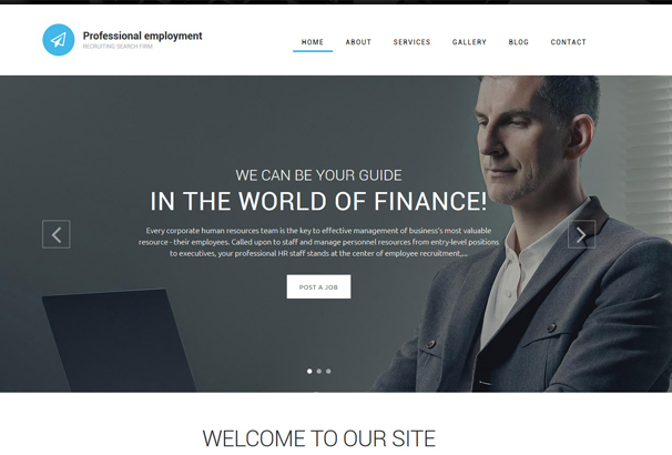 professional-employment-drupal-template