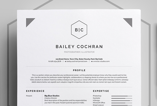 resume-cv-bailey
