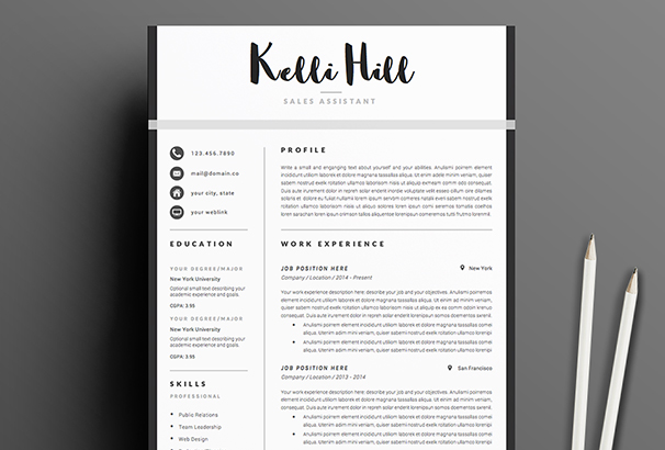 resume-template-4page-jolie
