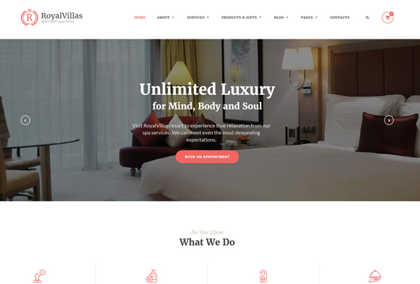 royal-villas-website-template