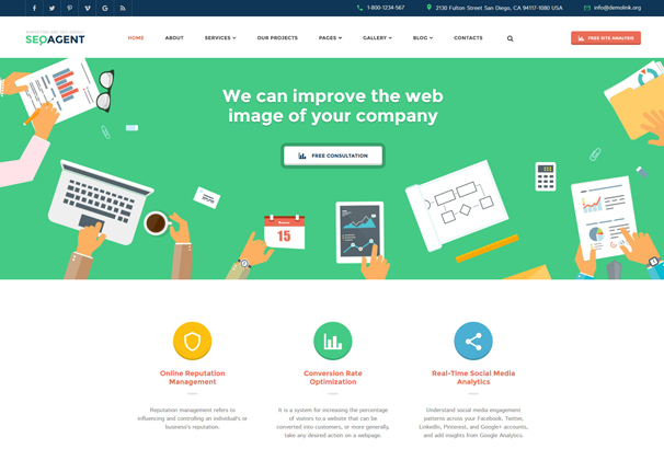 seo-website-responsive-website-template