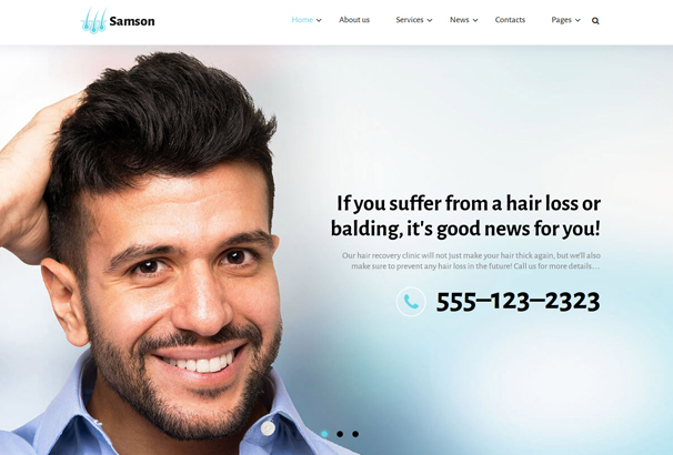 samson-website-template