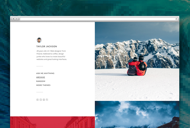 split-tumblr-theme