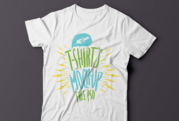 summer psd t shirt template