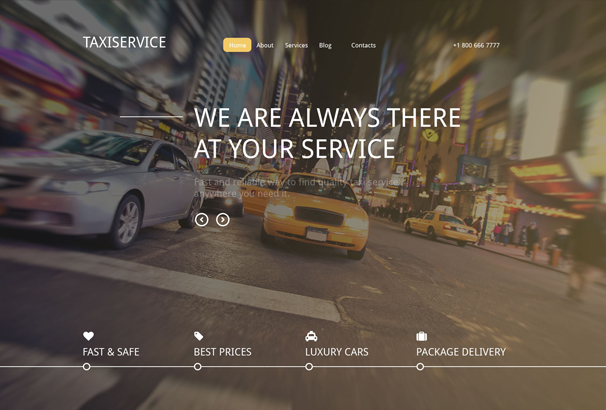 taxiservice-drupal-template