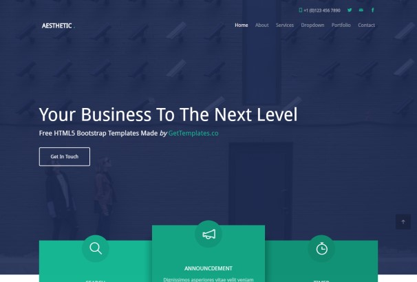 60 free html5 business website templates 2017