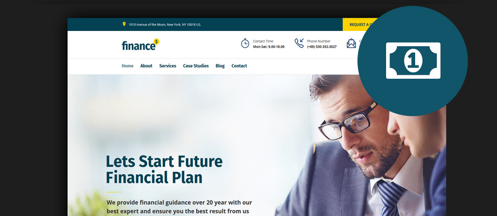 Best Financial WordPress Themes