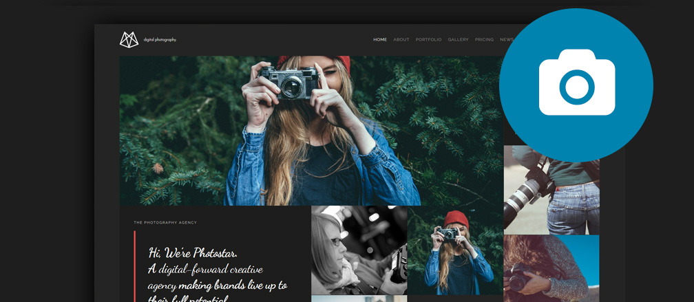 Best Joomla Photography Portfolio Themes