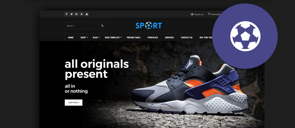 Sports WooCommerce Themes