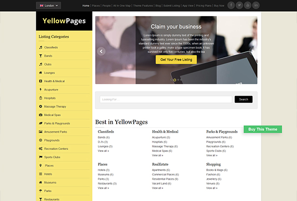 60+ Best WordPress Directory Themes 2017