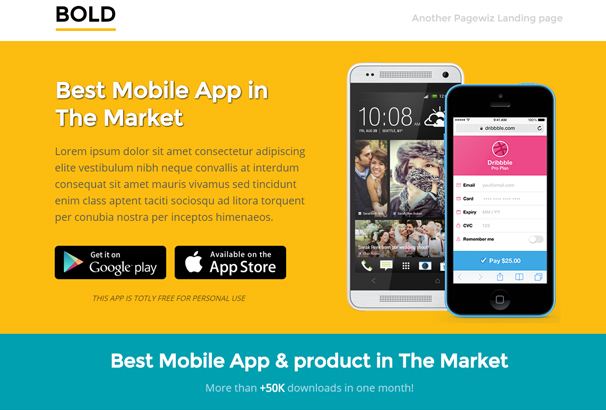 bold-unbounce-app-landing-page-template