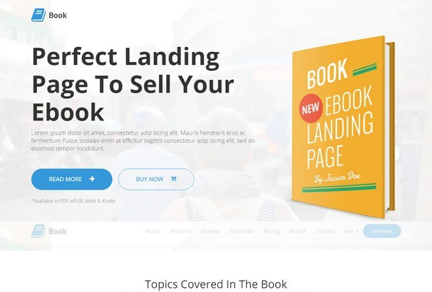 50 best wordpress bookstore themes for books ebooks 2017 of code to make this work also unlimited colors and layouts will offer you unlimited customization possibilities and opportunities to sell your books fandeluxe Gallery
