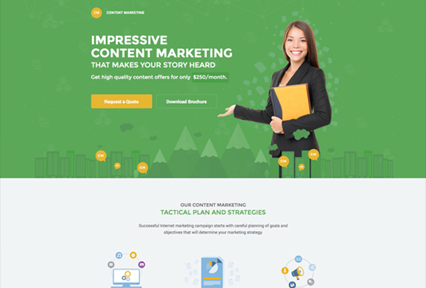 content-marketing-unbounce-landing-page