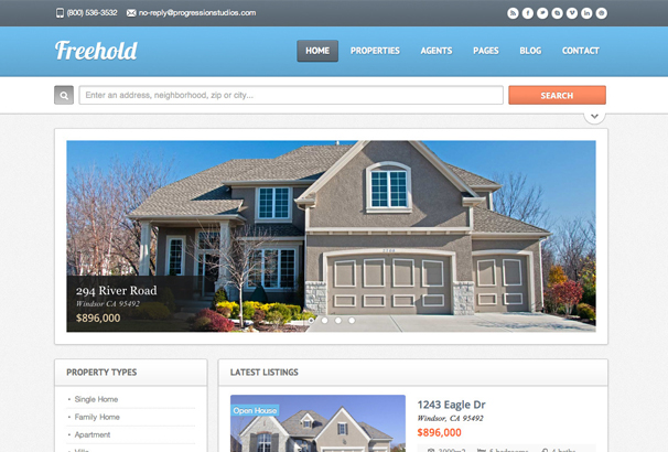 freehold-real-estate-site-template