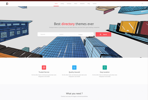 glimpse-multipurpose-directory-template