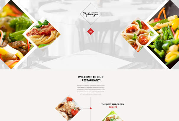 50+ Best HTML5 Food & Restaurant Website Templates 2017