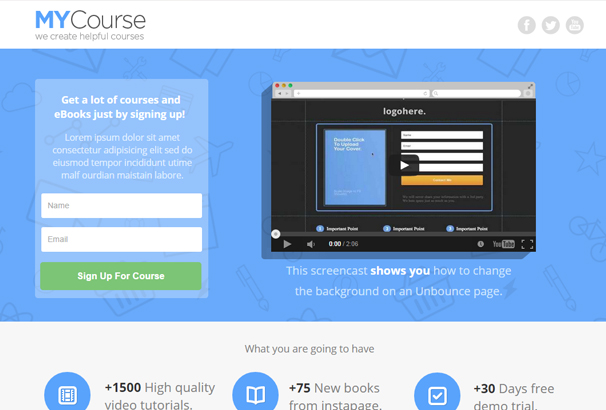 mycourse-instapage-ecourse-landing-pages-pack
