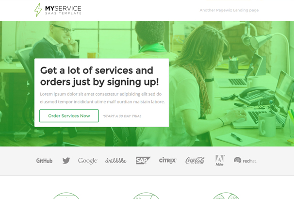 myservice-saas-product-unbounce-landing-page-template