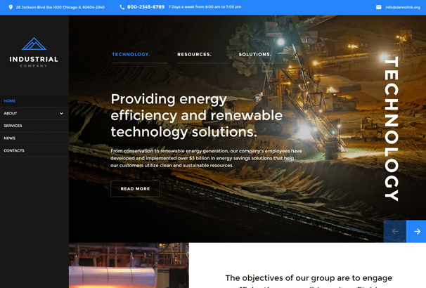50 best html business website templates 2017 this great template has been crafted especially for mining companies who are keen to build a powerful online profile it features a full package of great maxwellsz