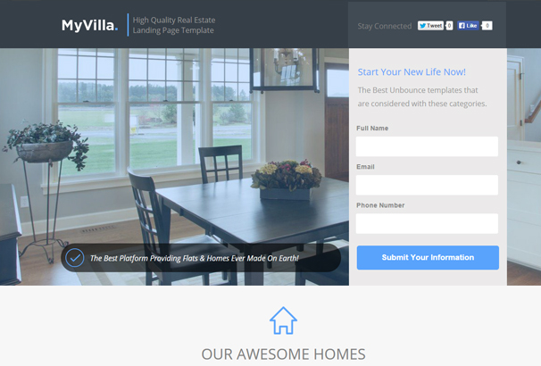 myvilla-real-estate-instapage-template