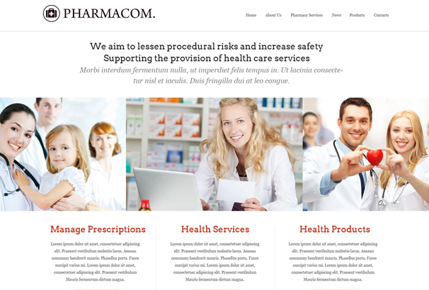 50 best html medical website templates 2017 look is what you need for creating a website for drugstore colors and rich content is blended so perfectly that the content doesnt look cluttered maxwellsz