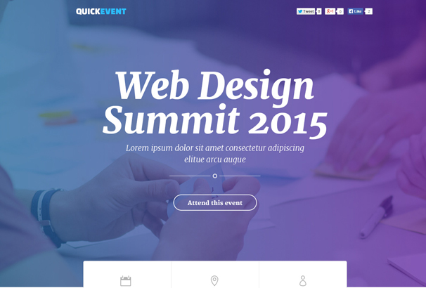 quickevents-responsive-unbounce-landing-page