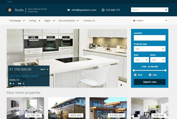 50 best html bootstrap real estate website templates 2017