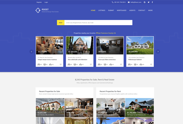 roost-material-design-real-estate-dashboard