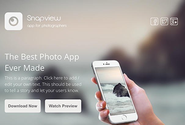 snapview-instapage-mobile-app-landing-template