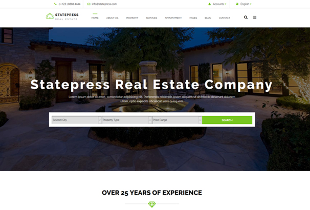 statepress-real-estate-html5-template